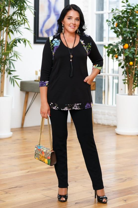 Блуза «Дарья». с подарком «Украшение»