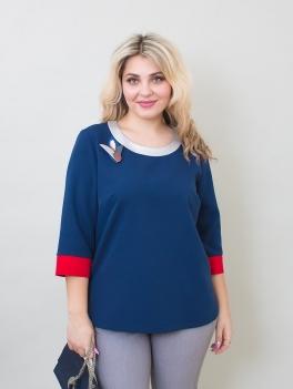 Блуза Трио