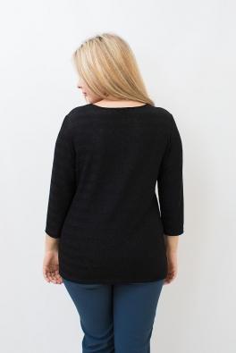 Блуза Черный блеск